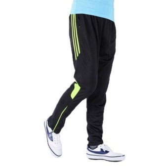 Men Elasticity Football Cycling Quick Drying Breathable Pants(Type1) - intl