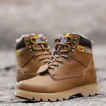 Men fashion boots warm boots - 4