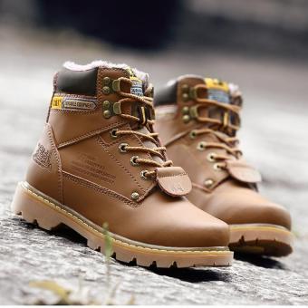 Men fashion boots warm boots - 5