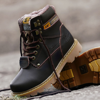 Men fashion boots winter snow boots