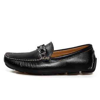 Men Fashion Loafers - Black - picture 2