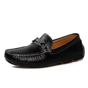 Men Fashion Loafers - Black