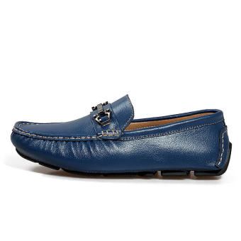 Men Fashion Loafers -Blue - picture 2