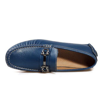 Men Fashion Loafers -Blue - picture 3