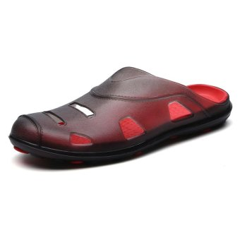 Men Fashion Slippers Sandals for Men Breathable Beach Sandals -intl