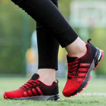 Men Fashion Sneakers Casual Running Sports Shoes(red) - intl - 5