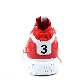 Men Fashion Trend Low Cut Sneakers-Red - picture 2