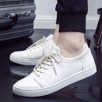 Men Fashion Walking Shoes New Casual Shoes (White) - intl