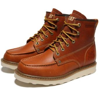 Men Hight boots For cat shoes (khaki) - intl Price Philippines