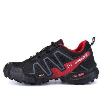 Men Hiking Shoes Hot Sale Waterproof Hiking Shoes Genuine Leather Outdoor Trekking Shoes - intl - 2