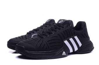 Men Sport Shoes Good Quality Tennis Shoes black - intl