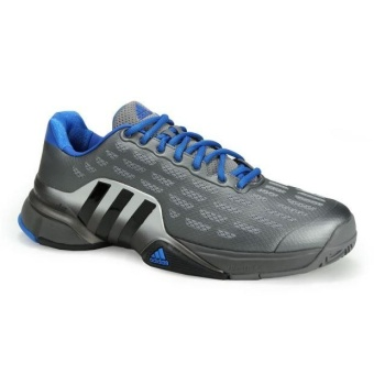 Men Sport Shoes Good Quality Tennis Shoes grey - intl