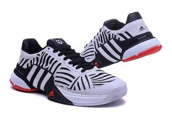 Men Sport Shoes Good Quality Tennis Shoes white - intl - 4