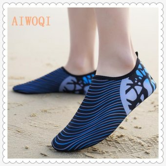 Men Women Swimming Yoga Beach Breath shoes Sandals for Summercasual shoes Barefoot Flexible Water Skin Shoes Aqua Socks forBeach Swim Surf Yoga Exercise AIWOQI - intl