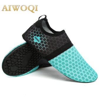 Men Women Swimming Yoga Beach Breath shoes Sandals for Summercasual shoes Barefoot Flexible Water Skin Shoes Aqua Socks forBeach Swim Surf Yoga Exercise AIWOQI - intl - intl