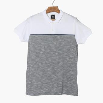 Men's Club Mens Heather Polo Shirt (White)