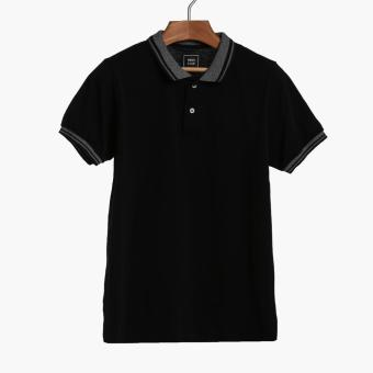 Men's Club Mens Pique Polo Shirt (Black)