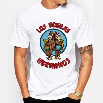 Men's Fashion Breaking Bad Shirt 2015 LOS POLLOS Hermanos T Shirt Chicken Brothers Short Sleeve Tee Hipster Hot Sale Tops - intl - 5