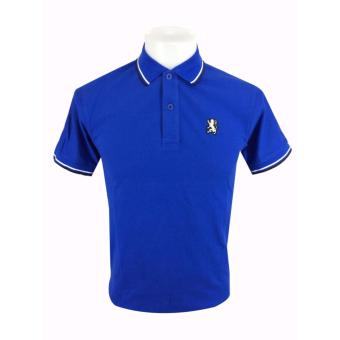 Men's GIOR #G001 Polo Shirt (Royal Blue) Price Philippines