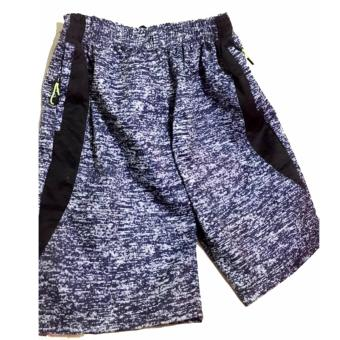 Men's Jogger Shorts with Zip Pockets