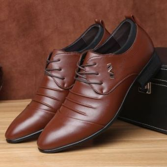 Men's New style summer men casual shoes Shoes (Amber brown 9339 shoes to send Belt)