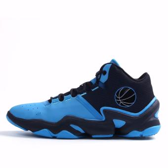 Men's Outdoors Sports Shoes Student Basketball Shoes for Mens Blue 8019 - intl
