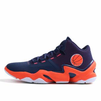 Men's Outdoors Sports Shoes Student Basketball Shoes for Mens Orange 8019 - intl - 3