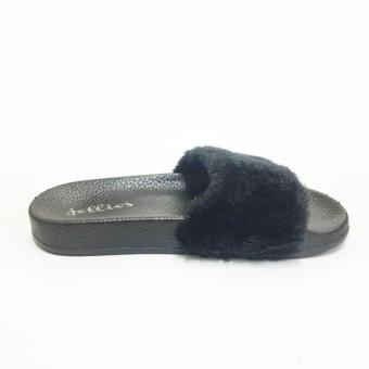 Mendrez Yoona Slide (Black)