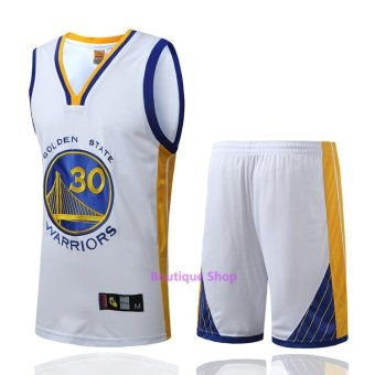 Men's #30 Stephen Curry Comfortable NBA Basketball Jersey Suits -intl