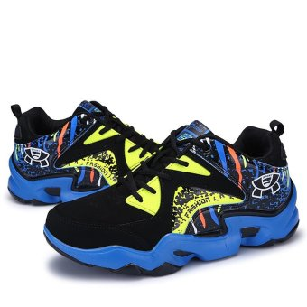 Mens Basketball Sneakers High Top Basketball Shoes For Men Shoes Training Men Leather Sport Shoes Stephen Curry (blue) - intl - 4
