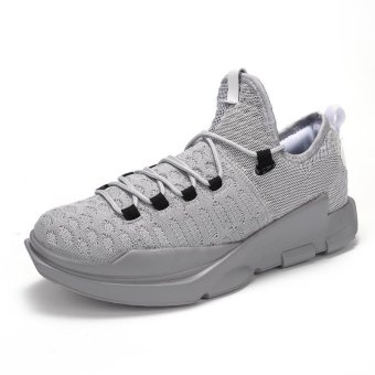 Men's Comfortable and Breathable Shock-absorbing Light BasketballShoes - intl Price Philippines