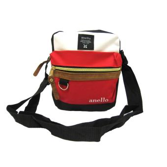Men's Fashion Trendy Slingbag (Red/Black)