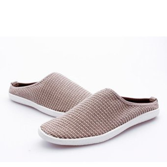 Men's Flat shoes Slip-Ons PU leather shoes Fashion Casual Loafersshoes - intl