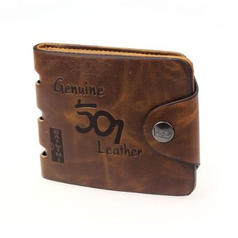 Mens Genuine Leather Bifold Wallet