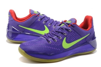 Men's KOBE A.D.EP Basketball Shoes Purple / green - intl Price Philippines