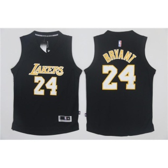 Men's Los Angeles Lakers 24# Kobe Bryant NBA Basketball Casual 2017New Style Jerseys - intl Price Philippines