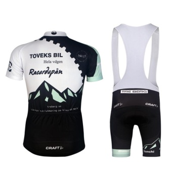 Men's MTB Bicycle Clothing Pro Bike Jersey Bib Shorts Sets - intl - 2