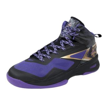 Men's PEAK Basketball Shoes Speed Eagle FIBA edition [Black/Purple]E43603BP1