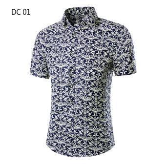Men's short-sleeved shirt printing - 2