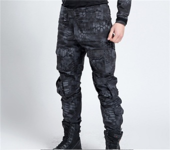 Men's Tactical Military Camouflage Cargo Pants Casual WindproofWaterproof Warm Camo Paintball Army Pants For Male High Quaility -intl