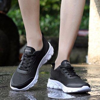 Men/women Mesh Shoes Running Shoes Color black EU 35-48 - 4