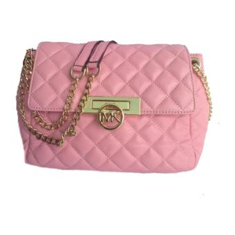 Michael Kors Fulton Quilted Flap Bag PINK Price Philippines