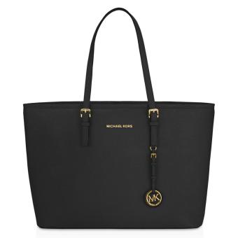 Michael Kors Macbook Large Tote Bag (Black)