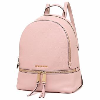 Michael Kors Rhea Medium Leather Backpack - Pink - 4
