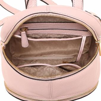 Michael Kors Rhea Medium Leather Backpack - Pink - 3
