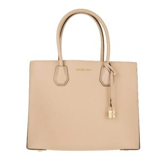 MICHAEL KORS STUDIO Mercer Large Leather Tote BEIGE