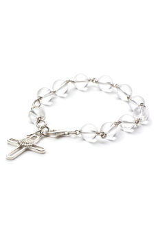 "Michelis ""Light"" Rosary Bracelet (White) - picture 2"