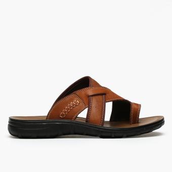 Milanos Mens Efrain Sandals (Brown)