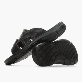 Milanos Mens Ever Sandals (Black) - 3