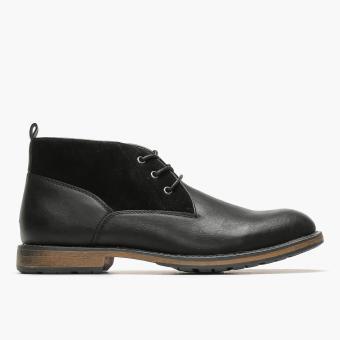 Milanos Mens Melo Chukka Boots (Black)